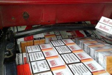 Поблизу кордону з Румунією виявили 2 тисячі пачок сигарет