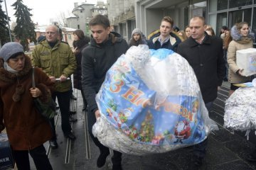 IOM sends over 200 tonnes of humanitarian aid to occupied Donbas