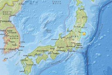 У берегов Фукусимы произошло землетрясение