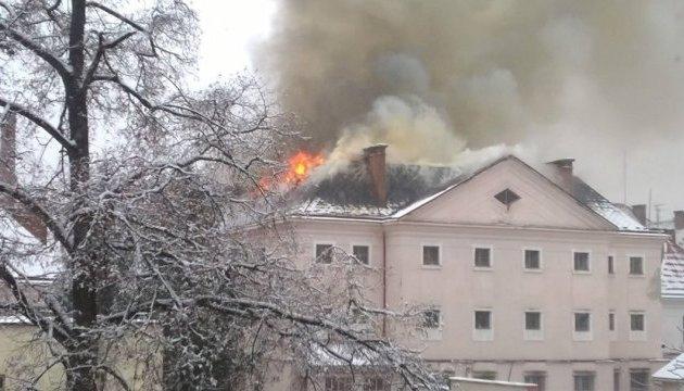 В Ужгороде горит СИЗО