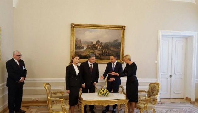 Марина Порошенко откроет в Польше выставку икон