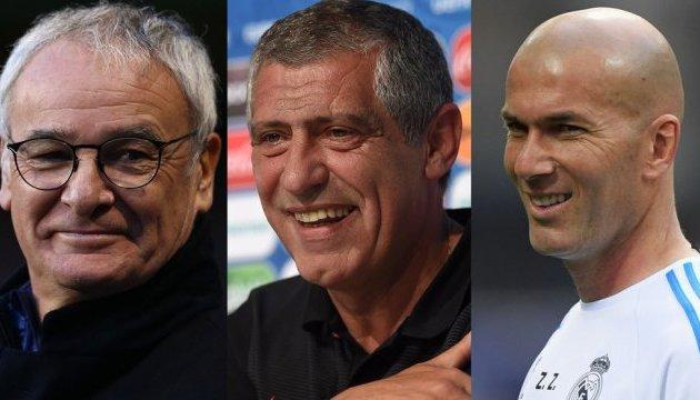 ФИФА назвала номинантов на звание лучшего тренера 2016 года