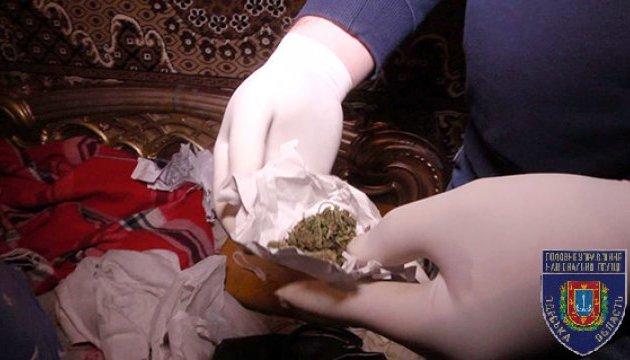 В Одессе перекрыли канал поставки наркотиков из Киева