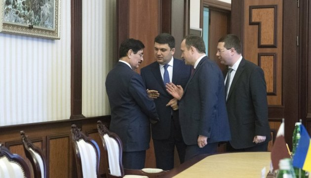 Ukraine, Qatar agree to deepen cooperation in all areas