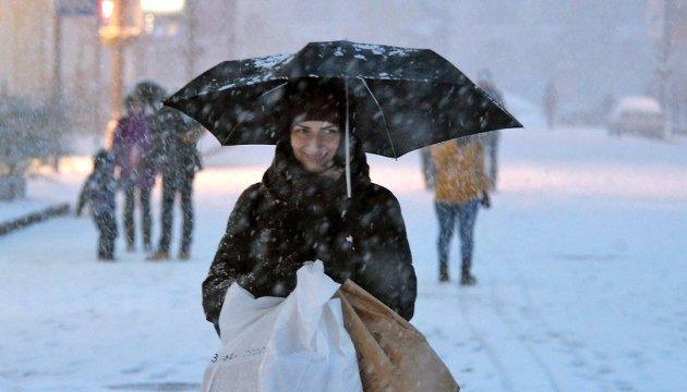 В Украине завтра небольшой снег