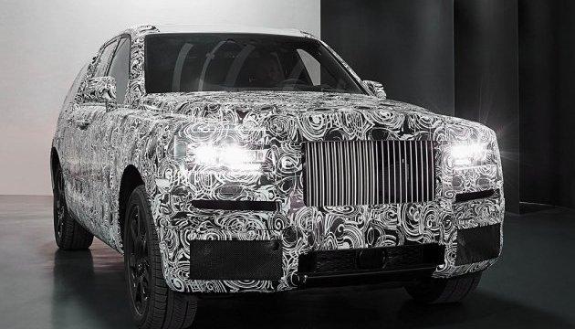 Rolls-Royce показав дизайн позашляховика Cullinan
