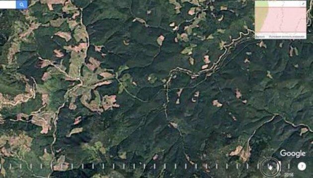 Супутникові знімки показали, як швидко зникає ліс Карпат