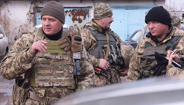 Муженко: Україна поділиться з НАТО бойовим досвідом
