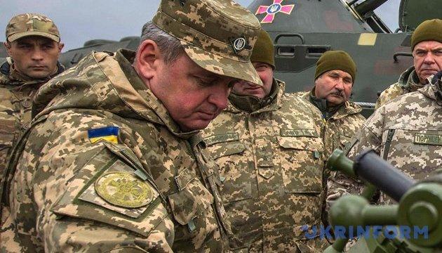 Муженко про силовий сценарій на Донбасі: можливі втрати - до 12 тисяч бійців за 10 днів