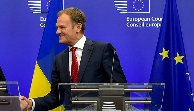 Donald Tusk: EU should not lose trust of Ukraine because of delay in granting visa-free regime