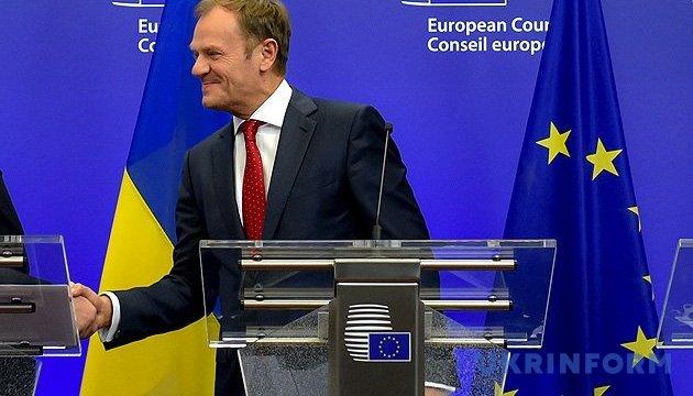 ЕС не должен потерять доверие Украины из-за промедления с безвизом - Туск