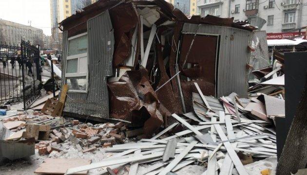 Тайна погрома МАФов возле метро Политехническая