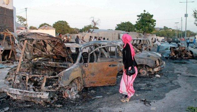 Біля готелю у Сомалі від вибуху замінованого авто загинули вісім людей