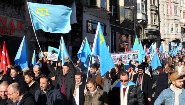 У Туреччині протестували проти дій Росії у Криму