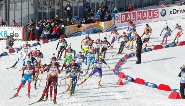 Биатлон: украинцы финишировали четвертыми в одиночной смешанной эстафете ЧЕ-2017