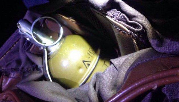 В Коцюбинском на остановке нашли боевую гранату