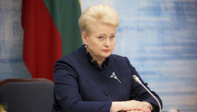 Украина должна эффективно использовать помощь ЕС - Грибаускайте
