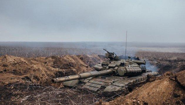 АТО: по Широкиному бойовики стріляли з мінометів, БМП і танка