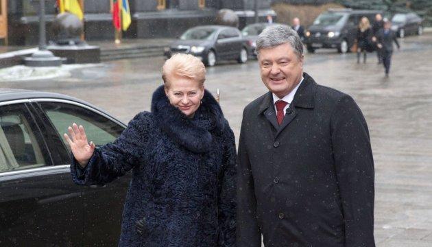 Грібаускайте вірить у безвіз для України з наступного року