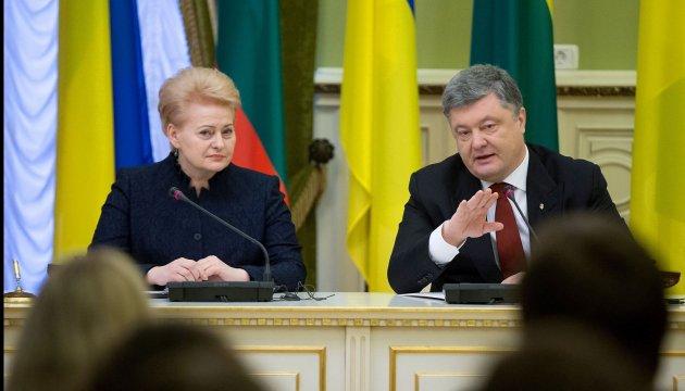 Grybauskaite: Corruption does more harm to Ukraine than war