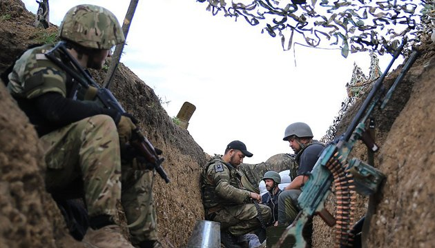 Two Ukrainian soldiers wounded ATO zone in past day
