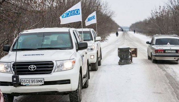 OSCE names hot spots of Donbas in past weeks