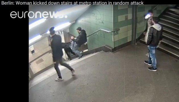 У Берліні затримали підозрюваного у жорстокому нападі на дівчину в метро