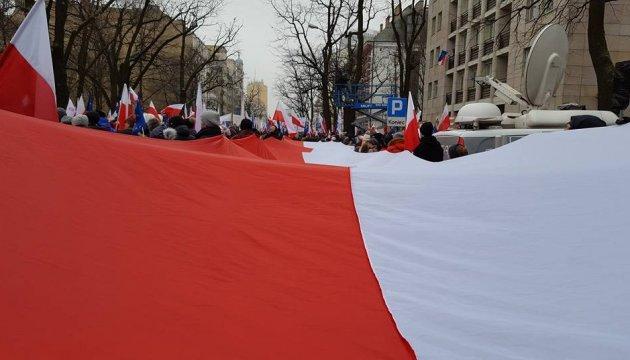 Партія Качинського продовжує утримувати лідерство в Польщі