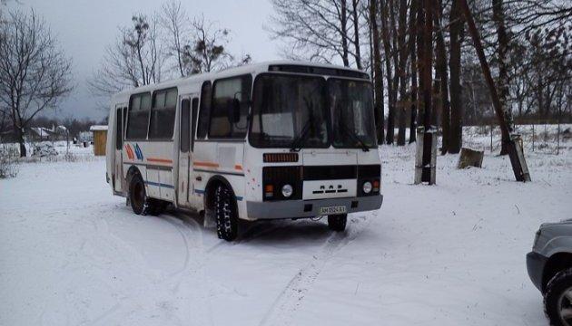 На Житомирщині виборців підвозили на дільницю - Опора