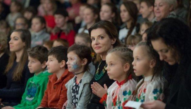 Дружина Президента запросила понад 700 дітей-сиріт на виставу про Микиту Кожум'яку
