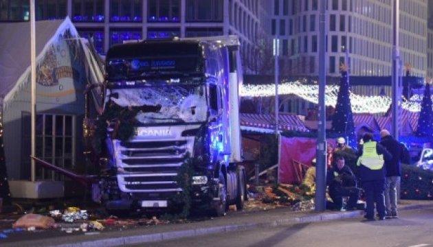 Теракт в Берліні скоєно вантажівкою на польській реєстрації - ЗМІ