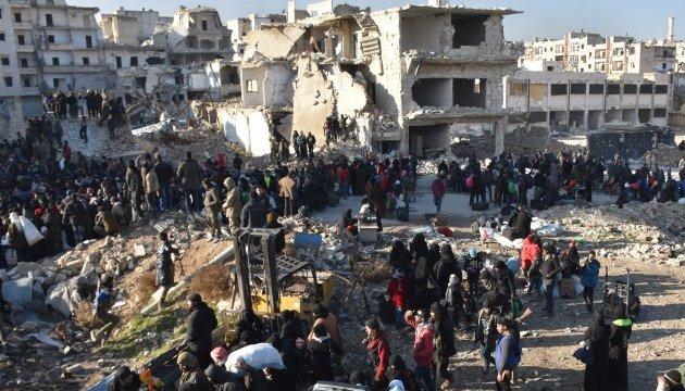 У Сирії завершилася евакуація з чотирьох захоплених армією Асада міст