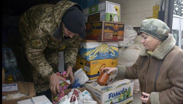 Ternopil region's agrarian companies send humanitarian cargo to Avdiivka residents