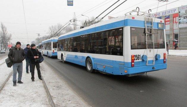 У Києві на 6 лютого скасували 6 тролейбусних маршрутів