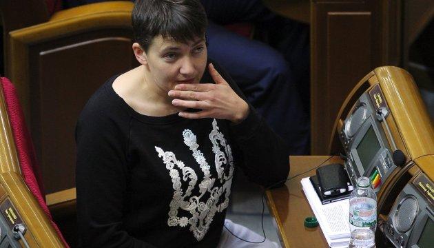Савченко пропонують виключити з оборонного Комітету ВР цього тижня