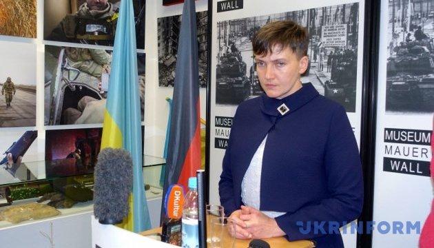 Савченко розказала, що робитиме після виключення з делегації в ПАРЄ