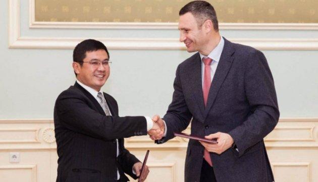 Китайська держкорпорація допоможе збудувати кілька важливих розв'язок у Києві