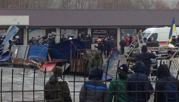 Знесення МАФів у Києві: постраждалих на ринку «Харківський» побільшало