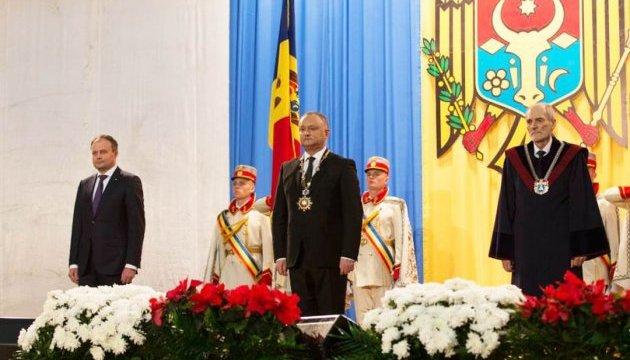 У Молдові інавгурували Додона