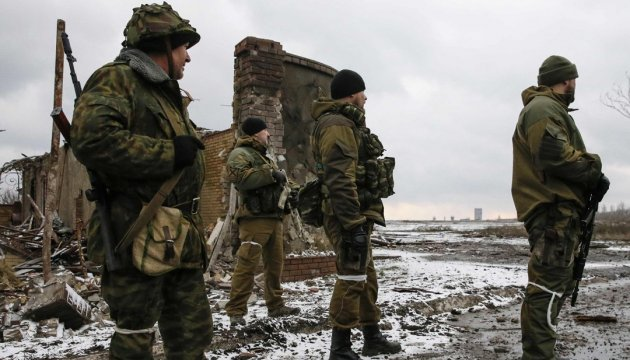 Militants launched 112 attacks on Ukrainian troops in Donbas in last day