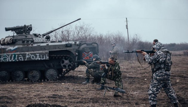 Militants launch 55 attacks on Ukrainian troops in Donbas in last day