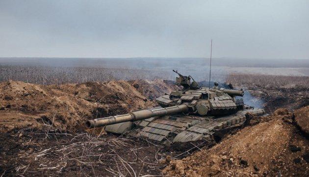 Bellingcat виявила бронетехніку терористів під Луганськом