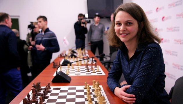 Анна Музычук стала третьей в рейтинге лучших шахматисток мира
