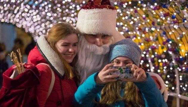 Кличко привітав українців із Новим роком і Різдвом