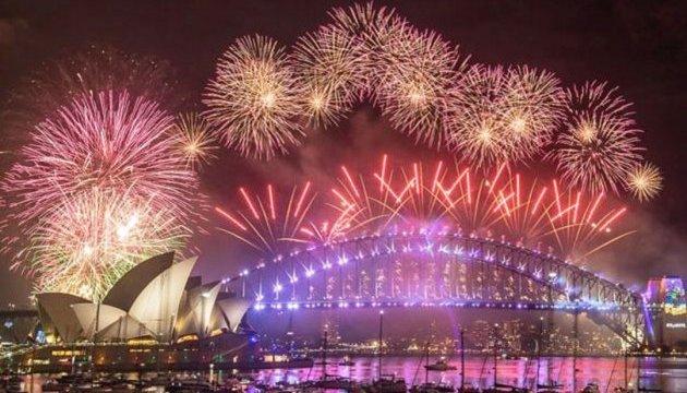Новая Зеландия, Австралия и острова Самоа уже встретили Новый год