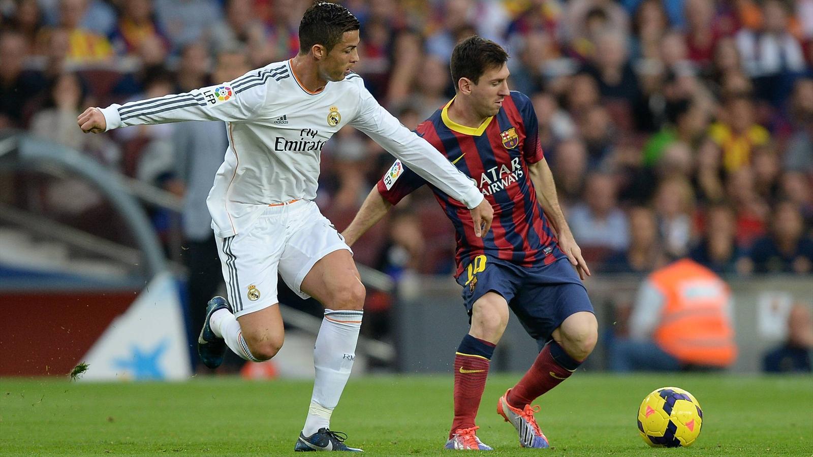 Кріштіано Роналду і Ліонель Мессі. Фото: les-transferts.com
