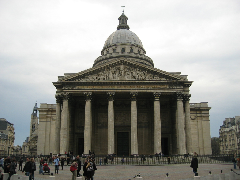 Пантеон видатних французів у Парижі