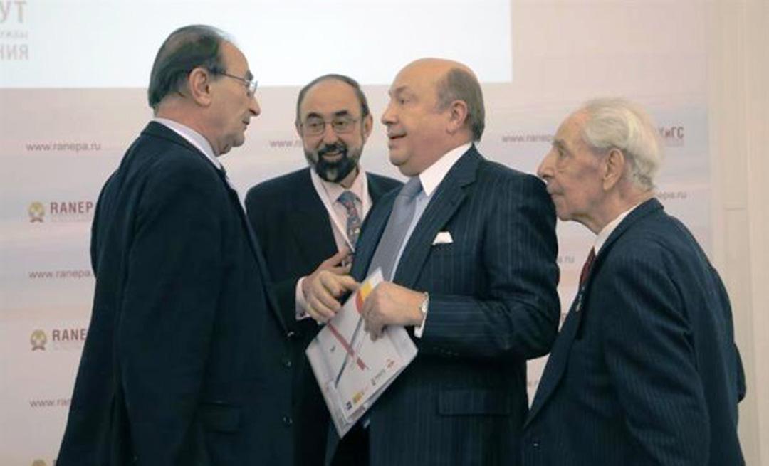 Кулуари іспанського засідання на Гайдарівському форумі. Фото агенції «ЕФЕ»