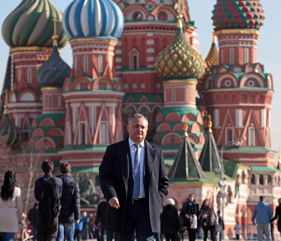 Игорь Додон / Фото: facebook.com/dodon.igor