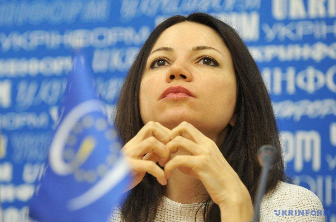Вікторія Сюмар, голова Комітету з питань свободи слова та інформаційної політики ВР
